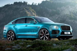 2020 Bentley Bentayga Spy Photos