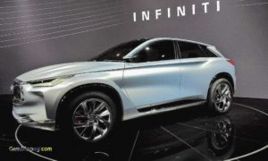 2020 Infiniti QX70 Spy Photos