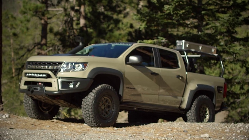 2020 Chevy Colorado Zr2 Bison Redesign Interior Engine And Price