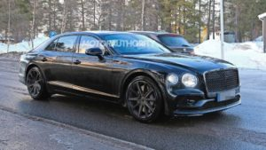 2020 Bentley Flying Spur Spy Photos