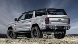 2020 Ford Bronco 4 Door Interior