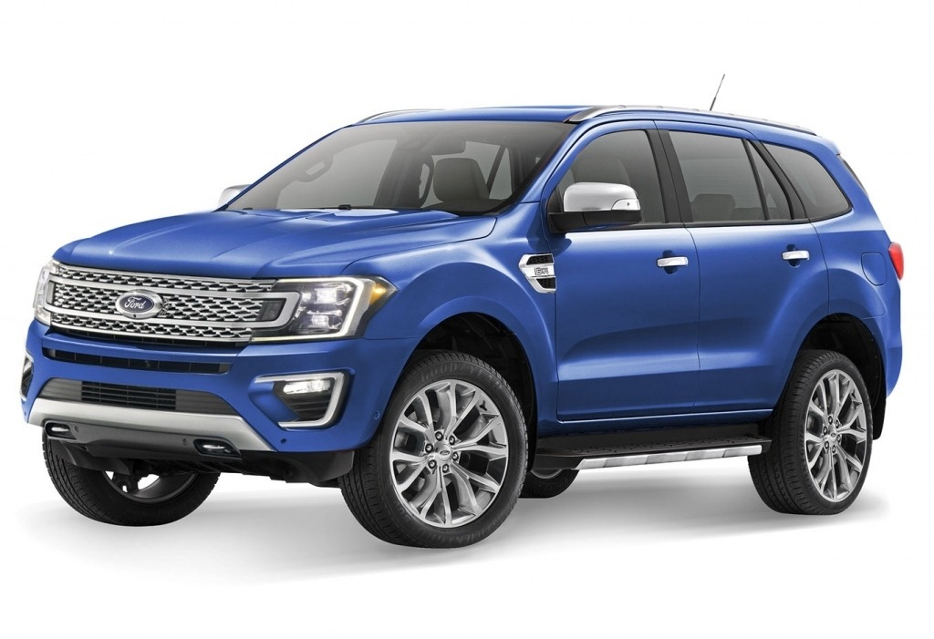2020 Ford Endeavour Wallpapers