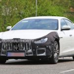 2020 Maserati Ghibli Spy Photos