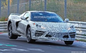 2021 Chevrolet Corvette Spy Photos