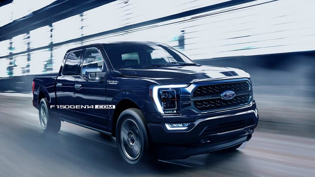 2021 Ford F150 Images