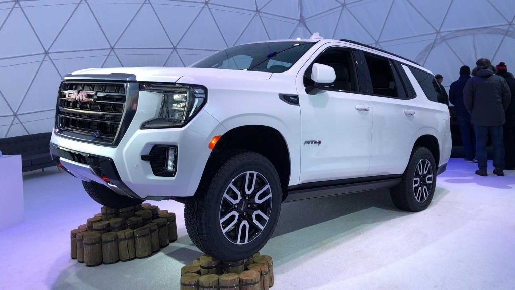 2021 GMC Sierra AT4 Engine