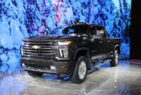 2021 GMC Sierra 3500HD Spy Photos